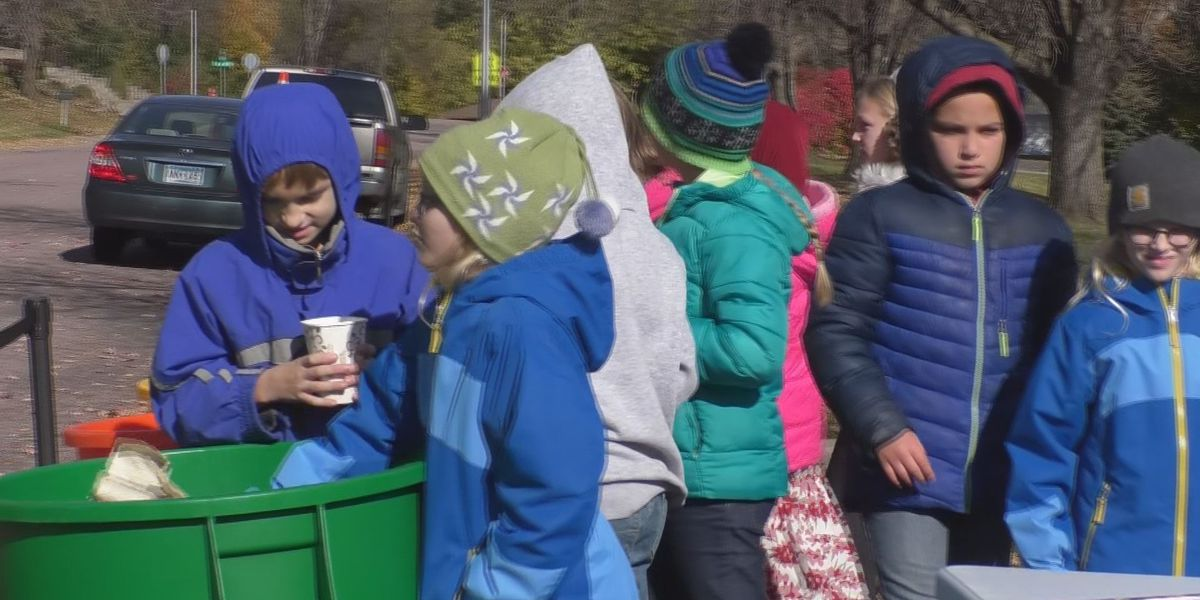 Recycling event gives elementary students hand-on education