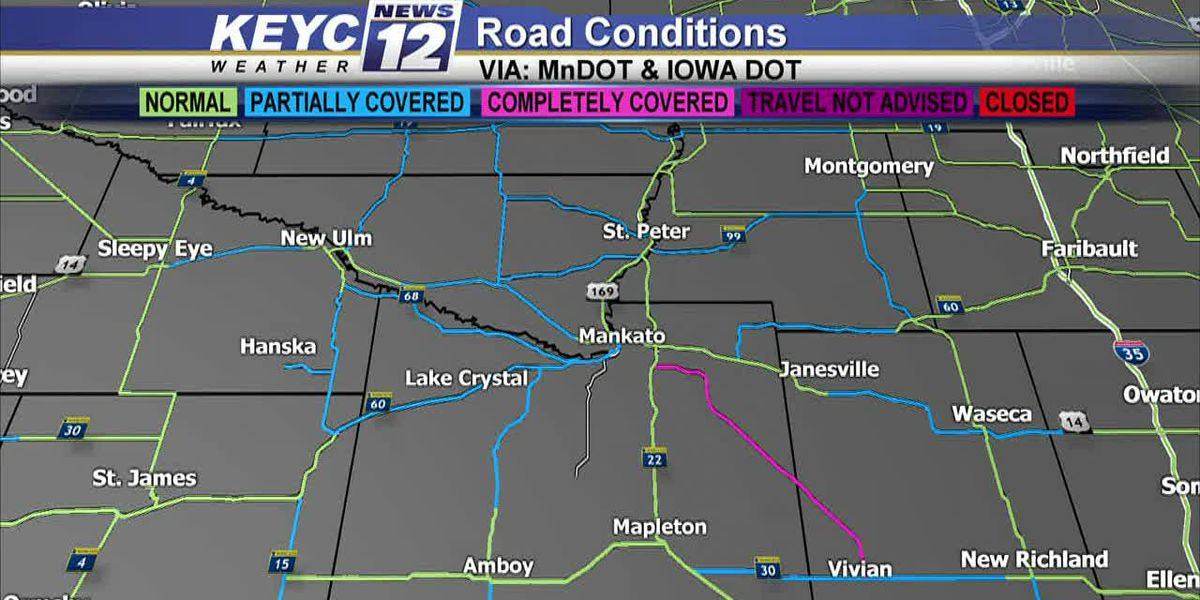 KEYC News 12 Weather Update At Noon