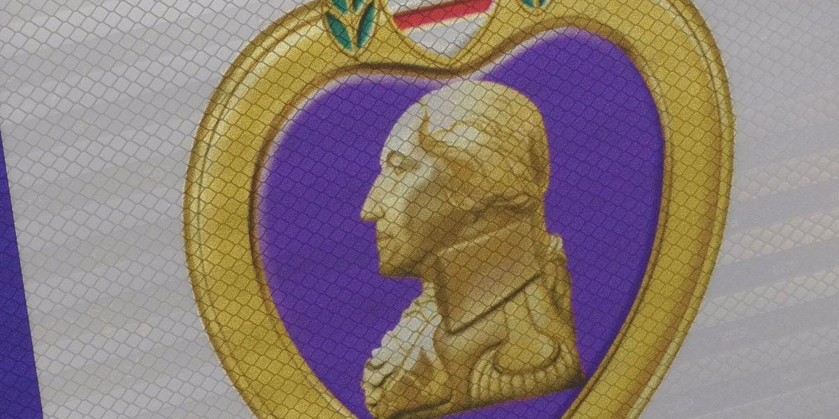 City of Wells awarded Purple Heart status