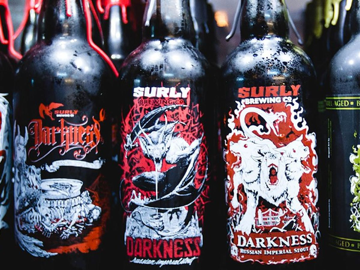 Mankato artist selected to design Surly Brewing's Darkness label