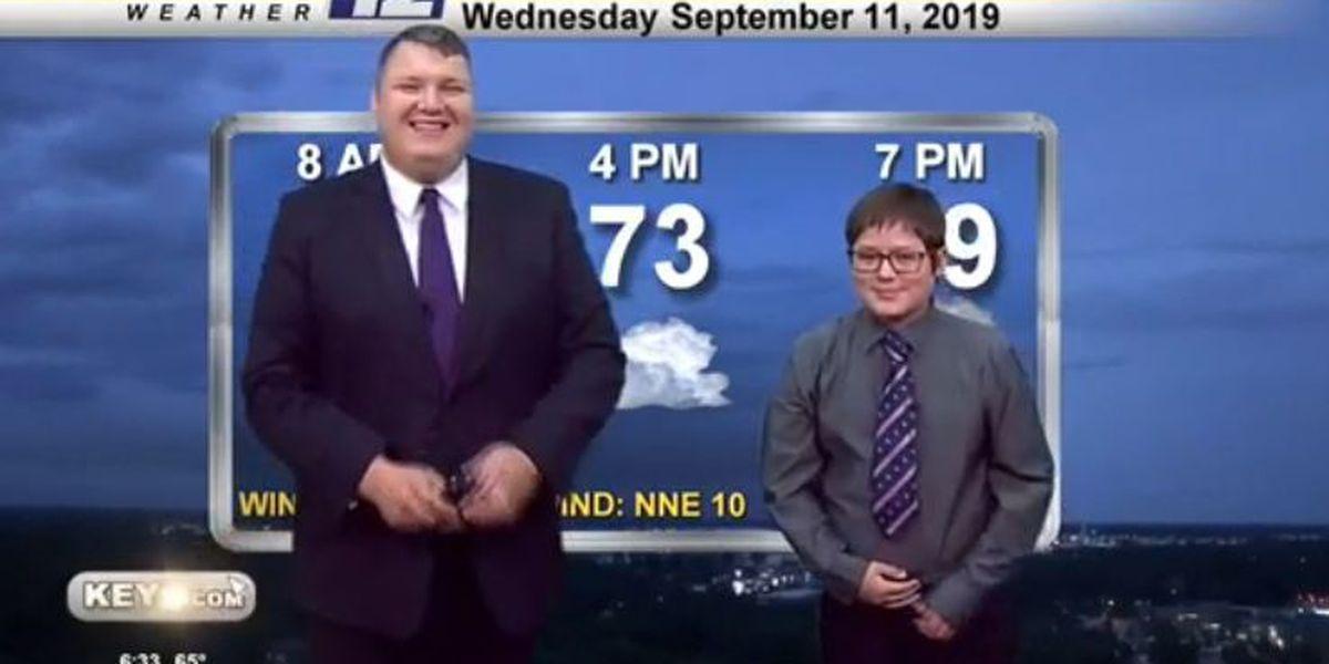 Weather Kid of the Month: Logan Johnson