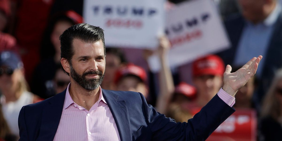 Trump Jr. addresses claims President made disparaging remarks about soldiers