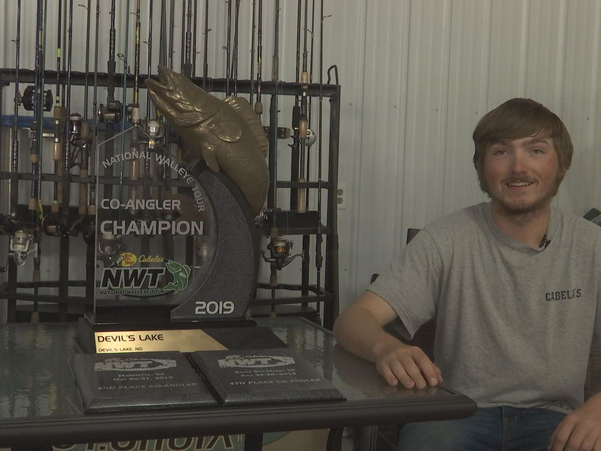 Mapleton teen becomes National Walleye Tour co-angler champion