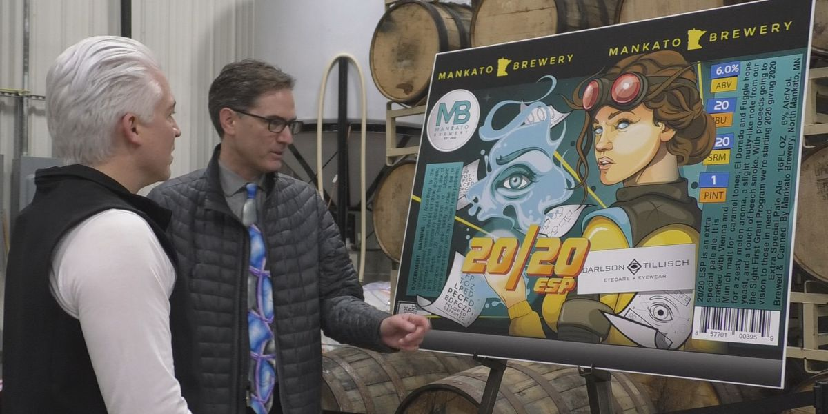 New beer for 2020 prepares to help give those in need 20/20 vision