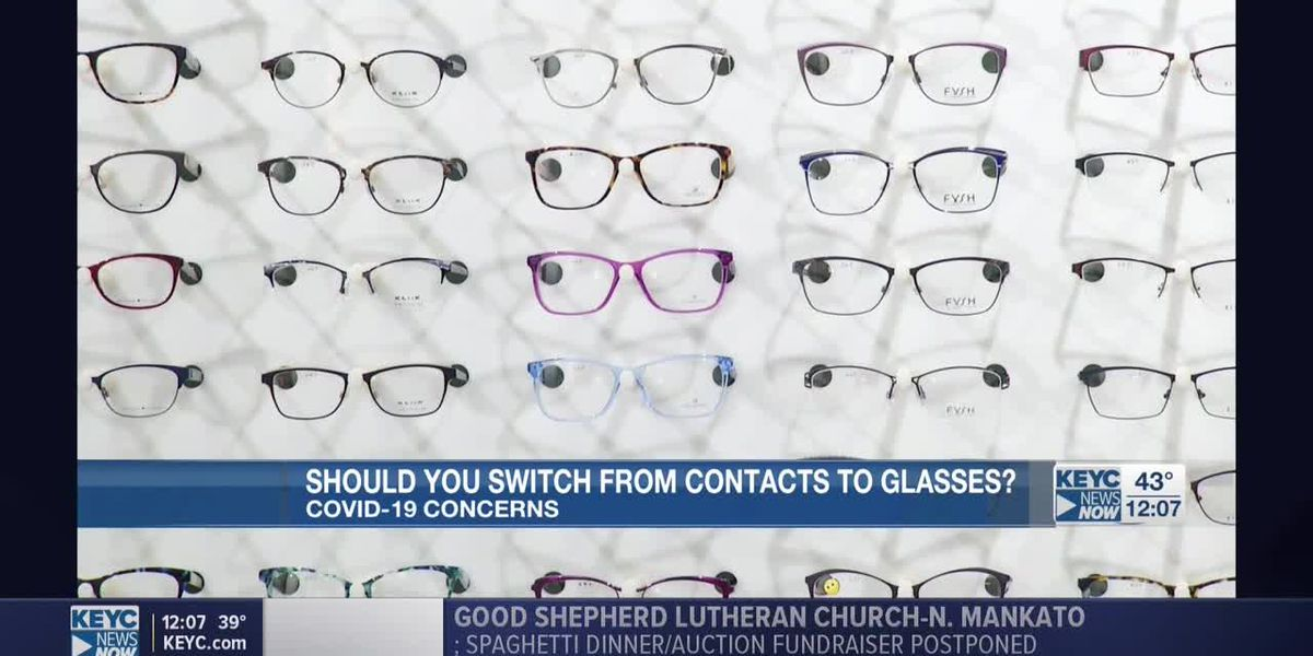 Should you switch from contacts to glasses?