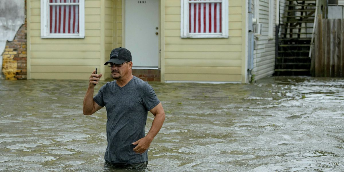 Barry's flood threat lingers as storm slowly sweeps inland