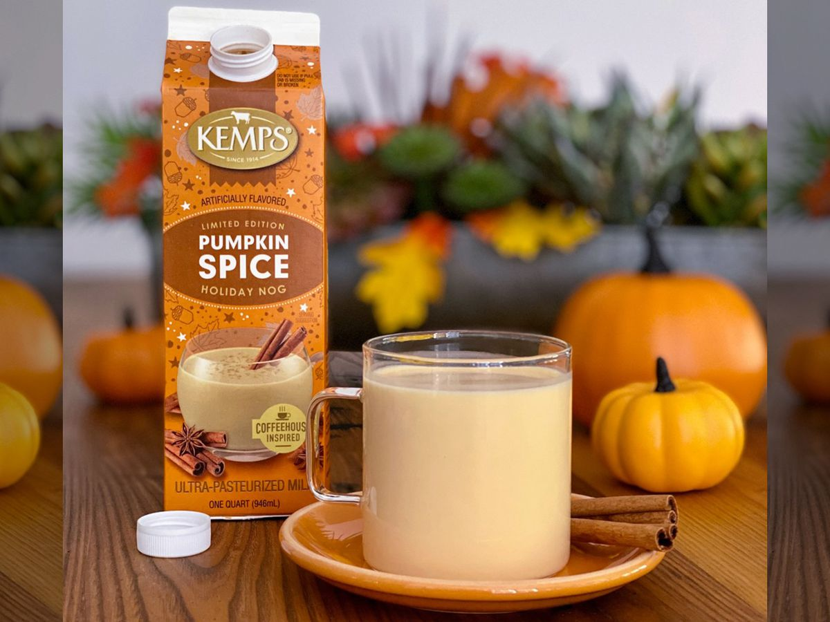 Kemps unveils limited-edition Pumpkin Spice Holiday Nog