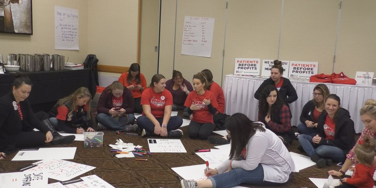 MCHS nurses file charges, plan to picket as contract talks stall