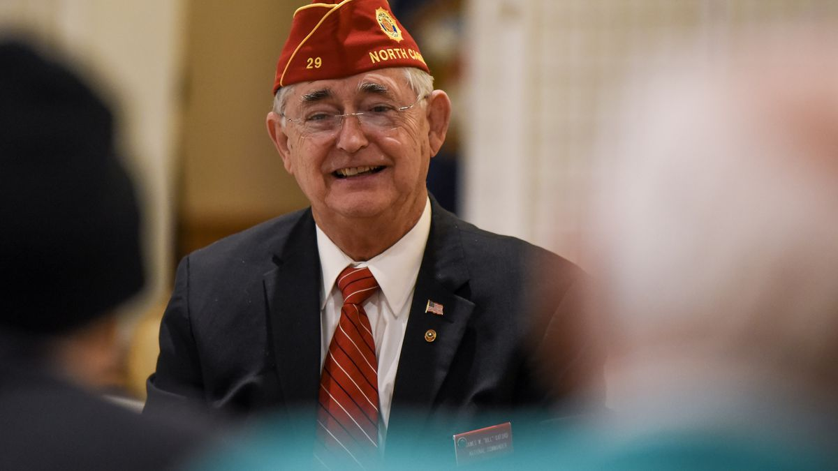 American Legion National Commander visits Mankato