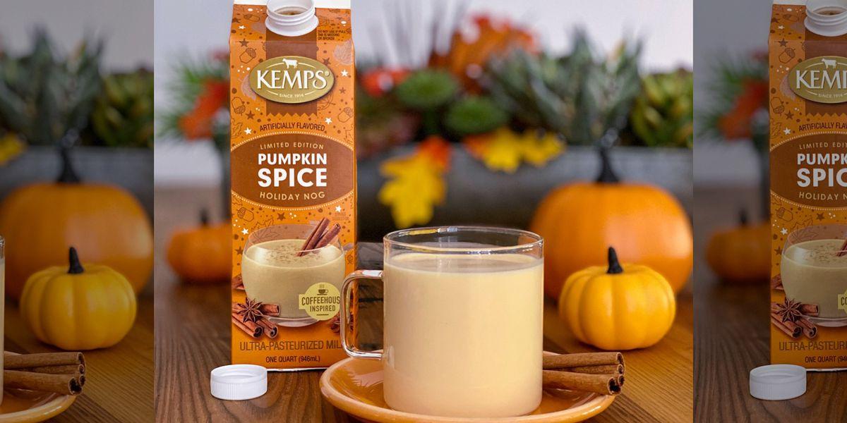 Kemps unveils limited-edition Pumpkin Spice Holiday Nog