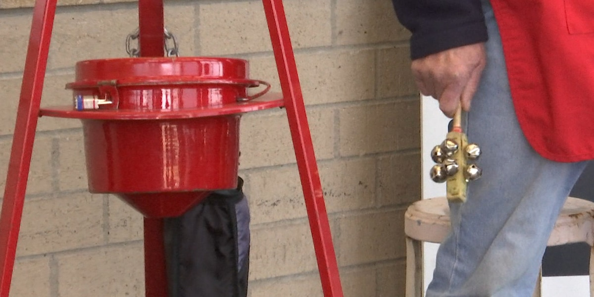 Facing shortfall, Salvation Army Red Kettles to remain out into January