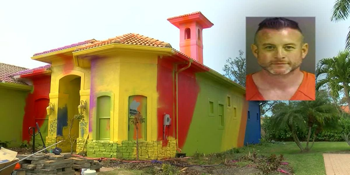 $500K home gets technicolor makeover