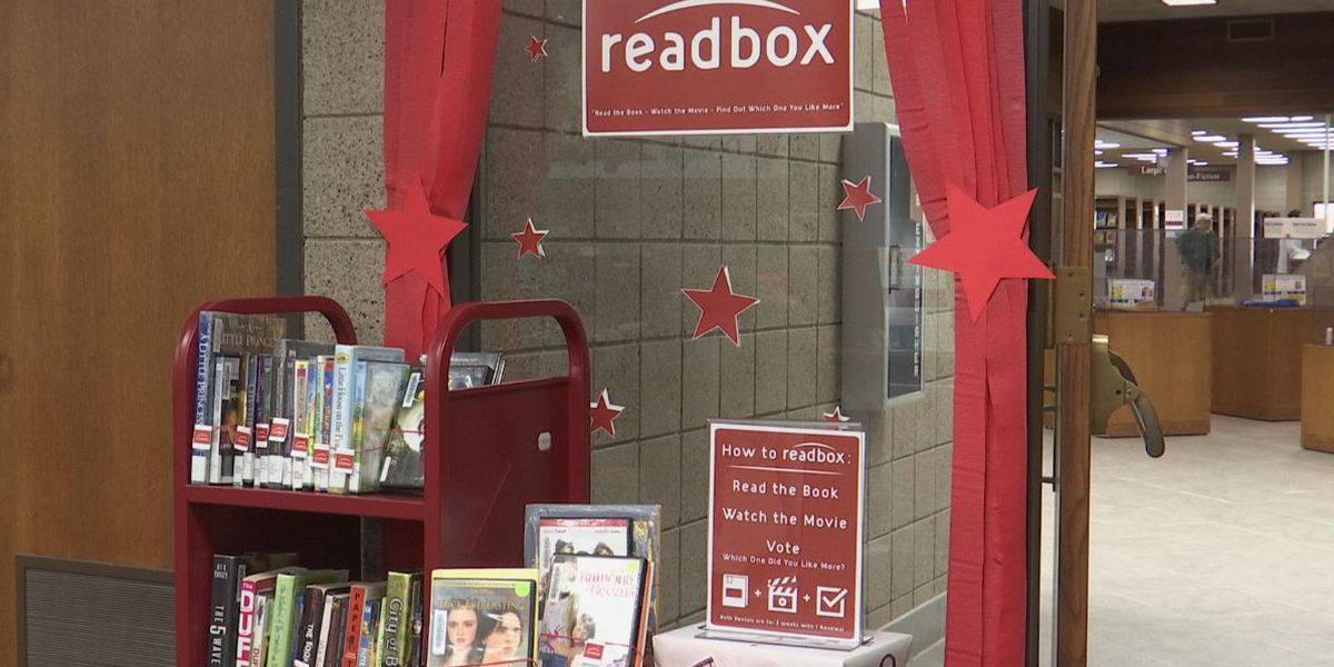 READbox at the Blue Earth County Library offers movies and books for library-goers