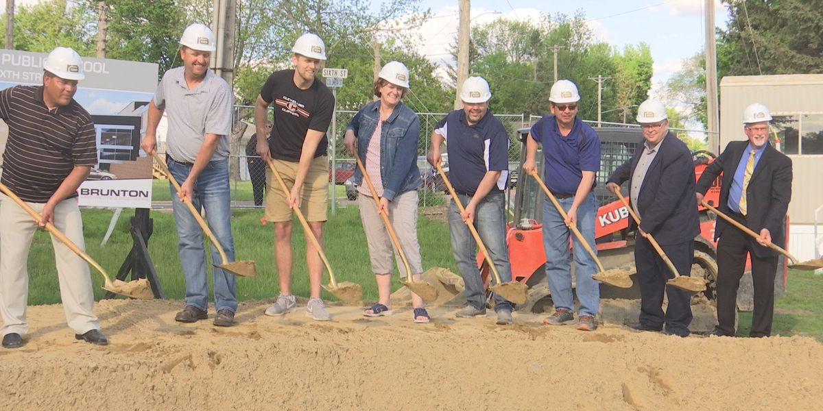 Cleveland breaks ground on new school improvements
