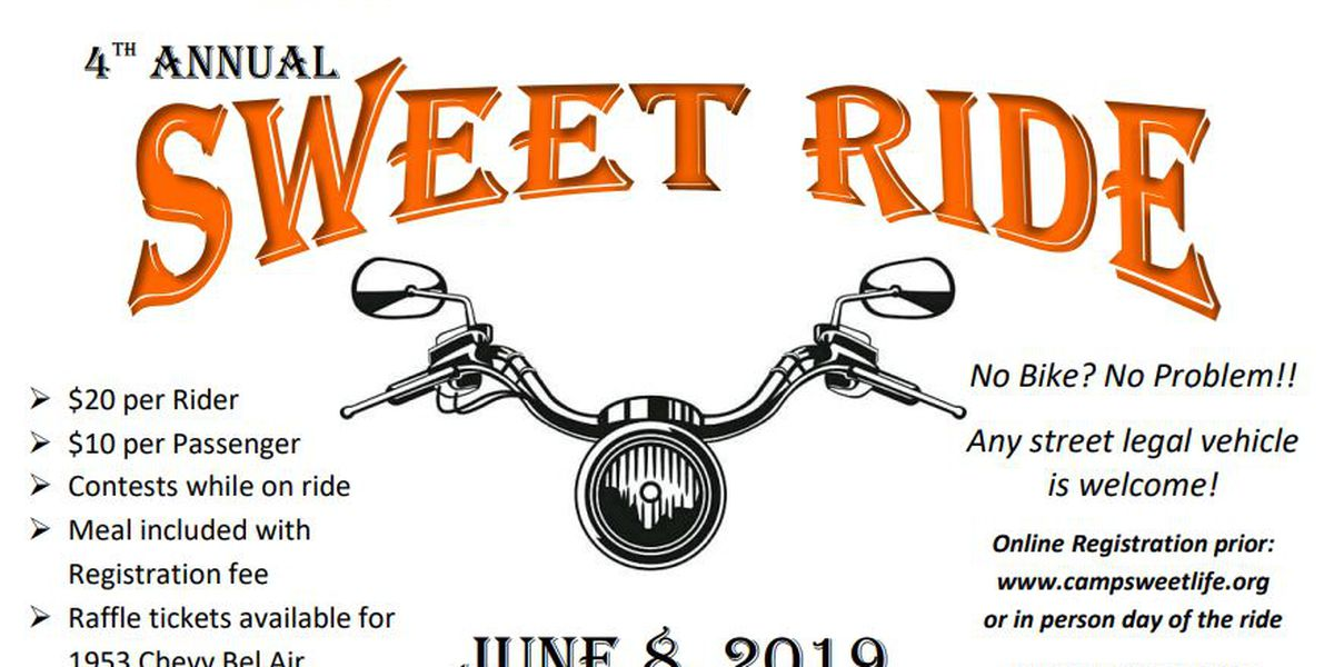 "Camp Sweet Life Announces 4th Annual ""Sweet Ride"""