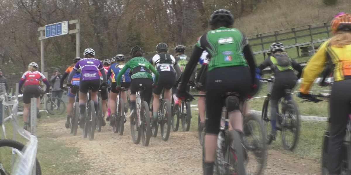 The Minnesota High School Cycling League takes over Mount Kato for their season finale