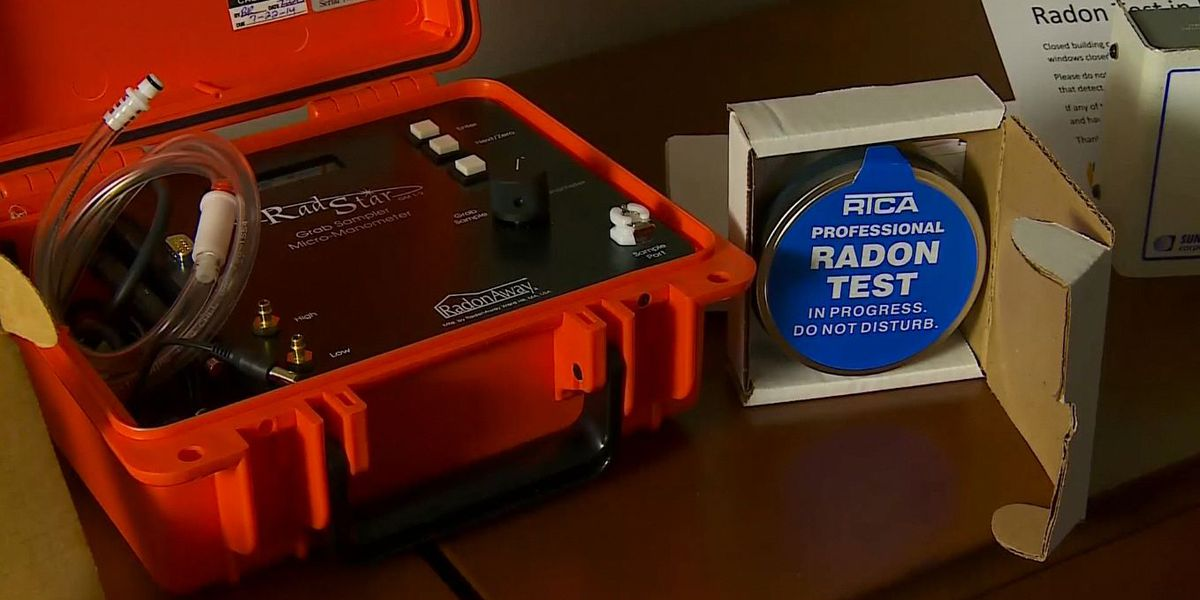 Free radon testing kits available from Brown-Nicollet Environmental/Community Health