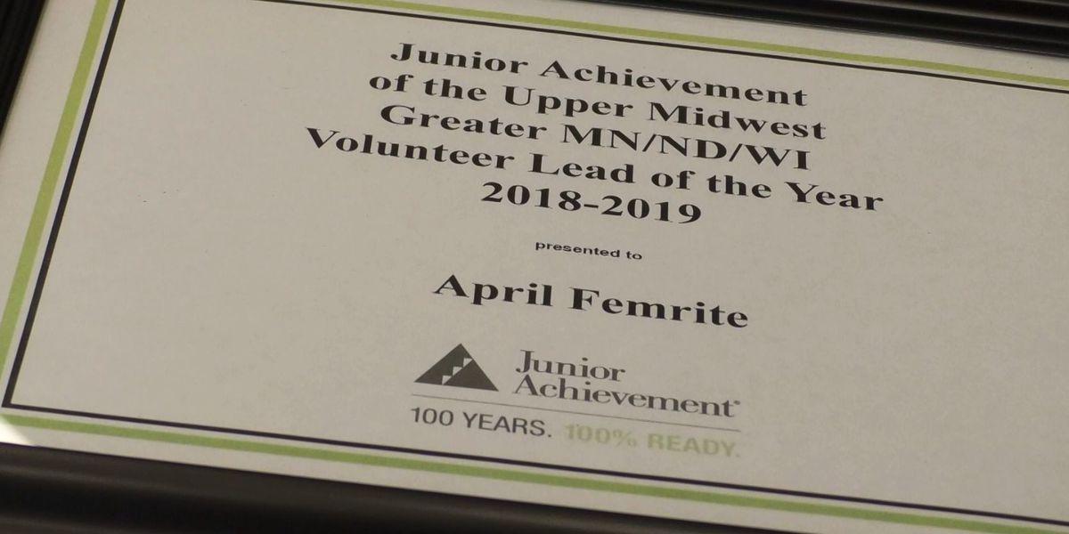Mankato woman awarded Junior Achievement Leader of the Year Award