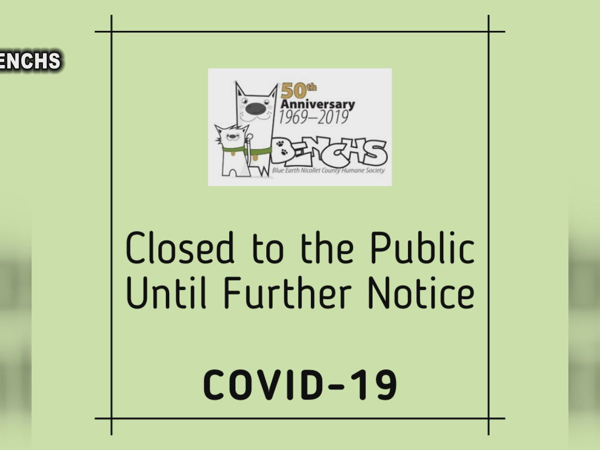 BENCHS temporarily closes to public during COVID-19 pandemic