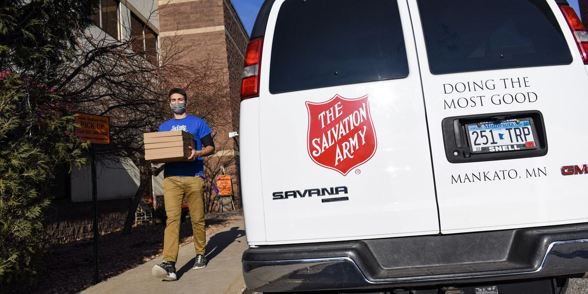 Mankato Salvation Army shows thanks to assisted-living community staff members
