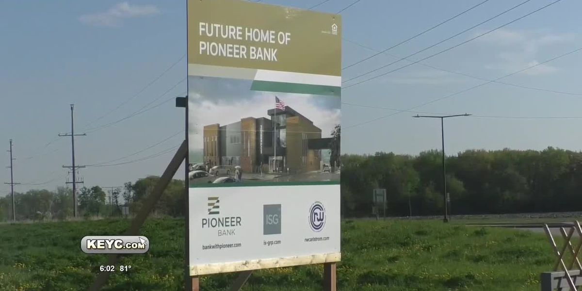 Pioneer Bank Breaks Ground for New Mankato Location