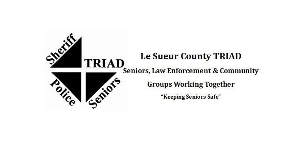 Le Sueur Co. Sheriff's Office works to eliminate crime against seniors with TRIAD meetings