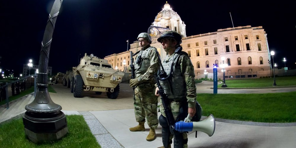 Walz to deploy National Guard to protect Minnesota Capitol