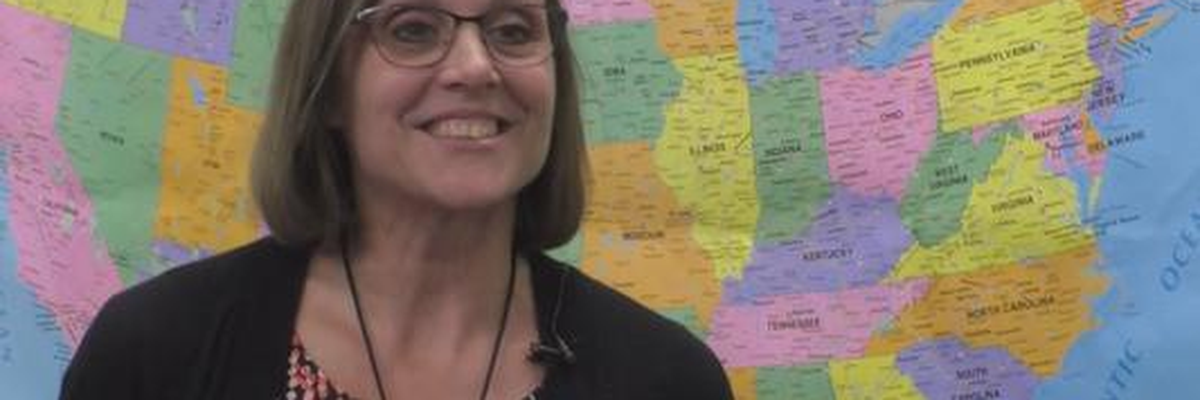 School year's first Golden Apple travels to New Ulm