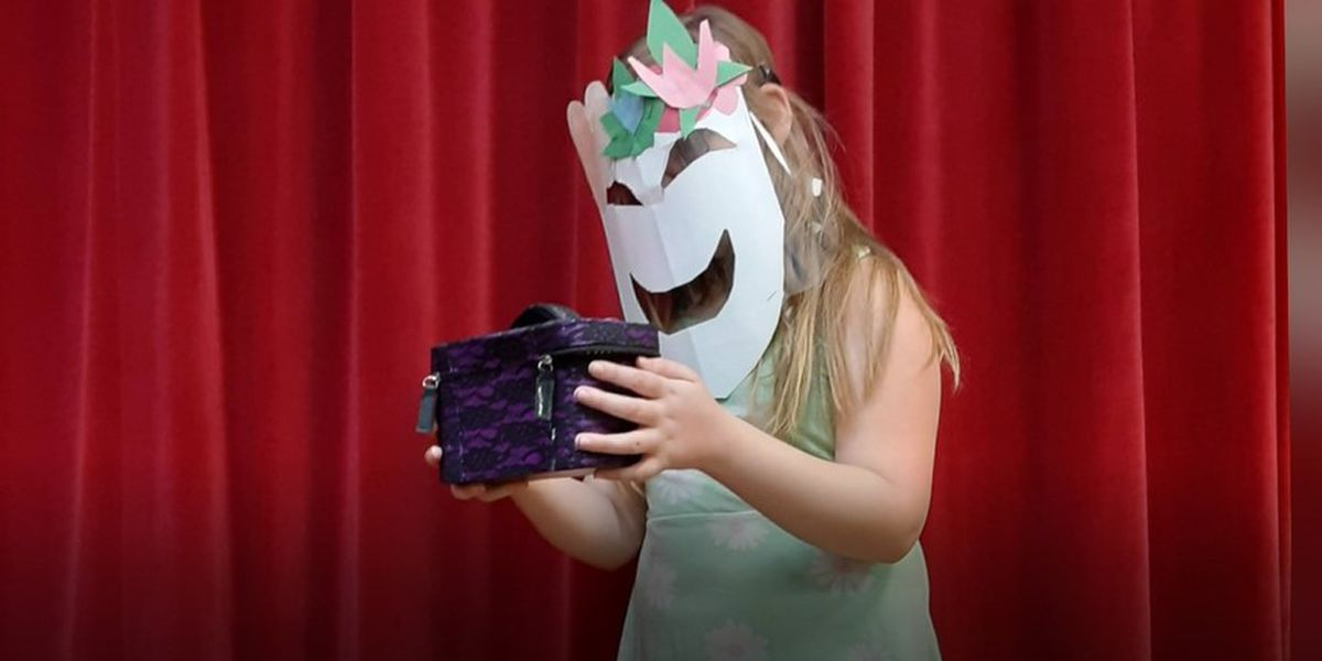 Amid pandemic, teacher gets creative with masks for theater