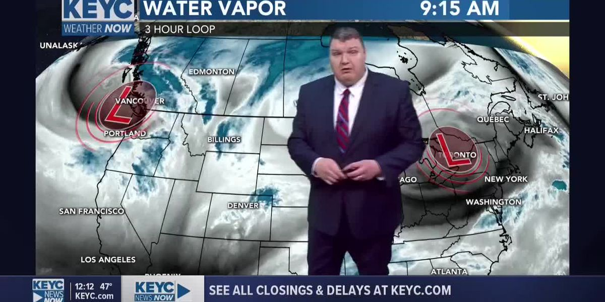 KEYC News Now Weather at Noon 33020