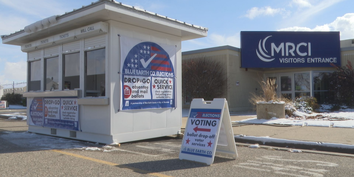 Second early voting station opens in Mankato