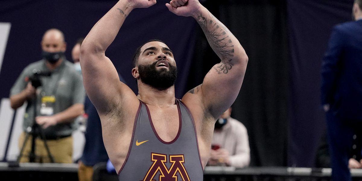 Iowa's Lee, Minnesota's Steveson share wrestling's top award
