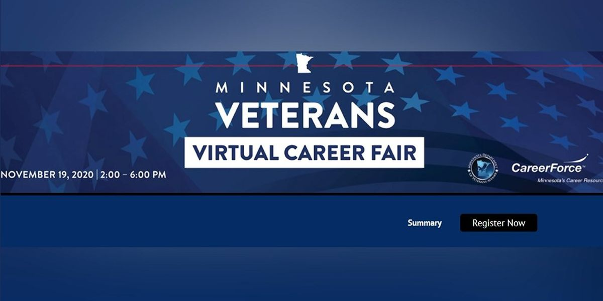 Virtual career fair for veterans coming up
