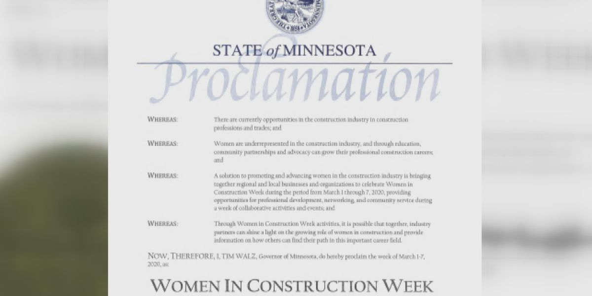 Women in Construction Week promotes opportunities for women to advance in the industry