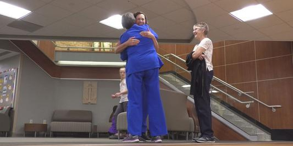 Long-time oncology certified nurse retires