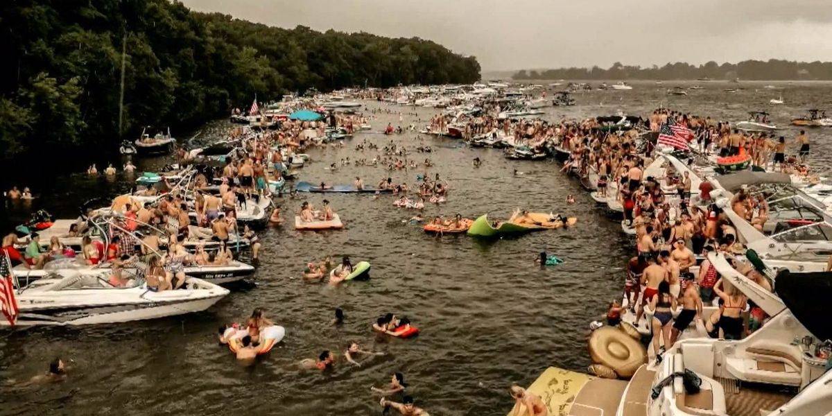 Number of sickened 4th of July boaters nears 120