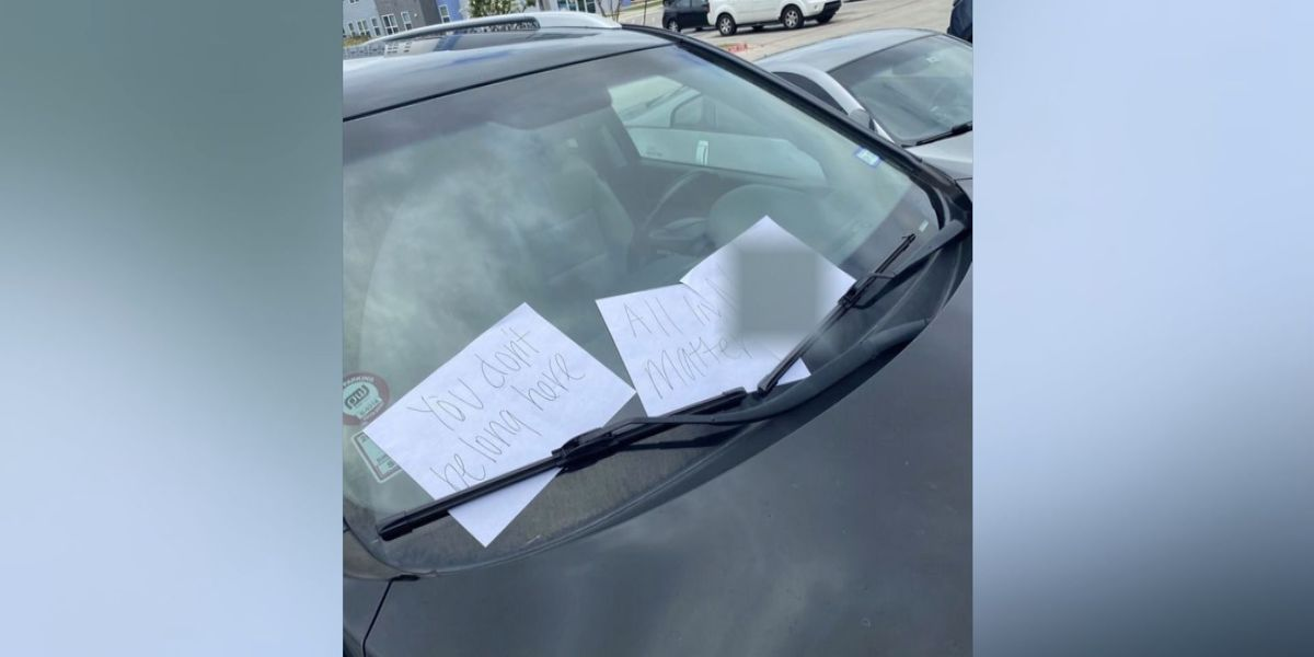 Texas A&M police say student who reported racist notes placed them there himself