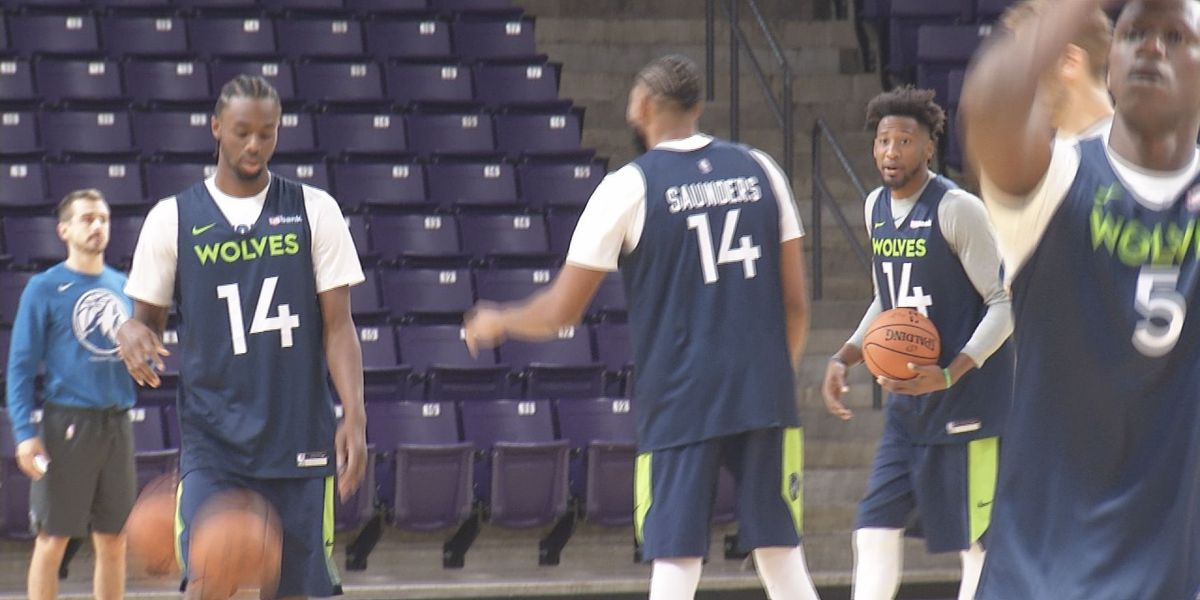 Timberwolves begin training camp at MSU
