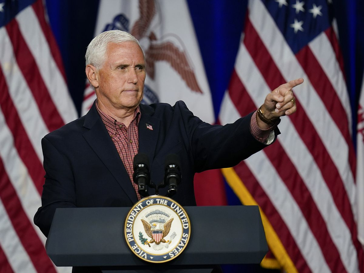 Vice President Mike Pence will host campaign event in Minn. before Election Day