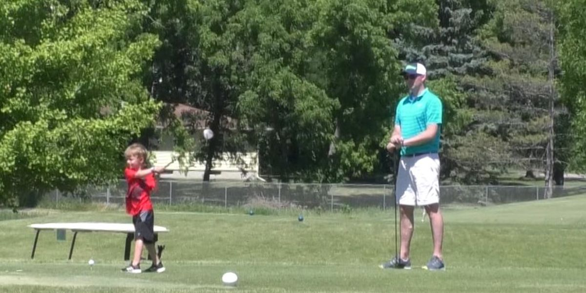 Large turnout for Father's Day at North Links Golf Course