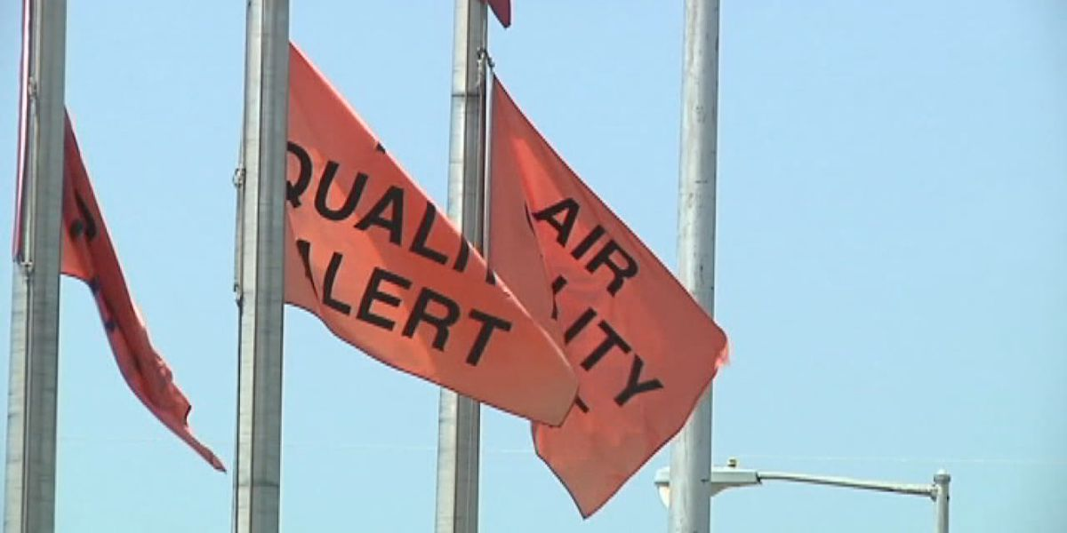 State officials issue air quality alert lasting through weekend