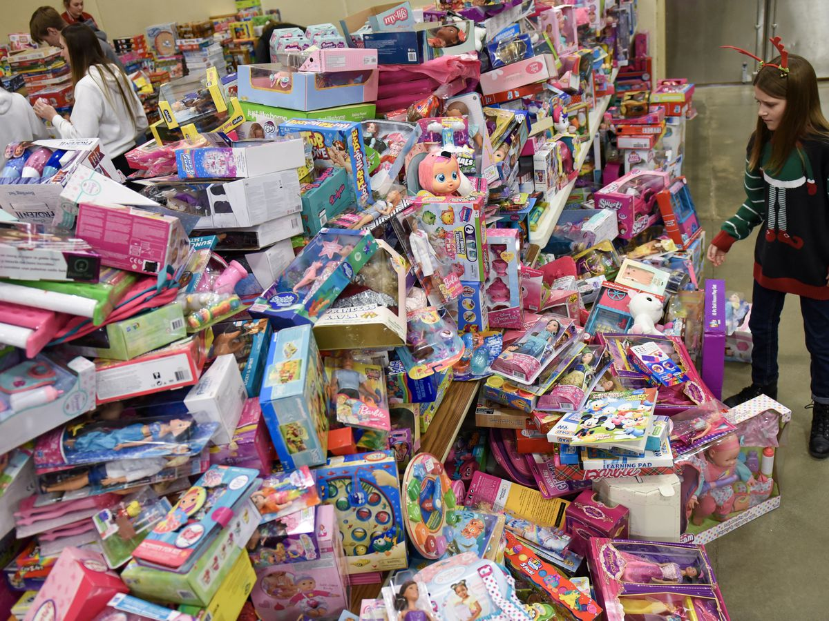 Mankato Toys for Tots collects record amount of toys