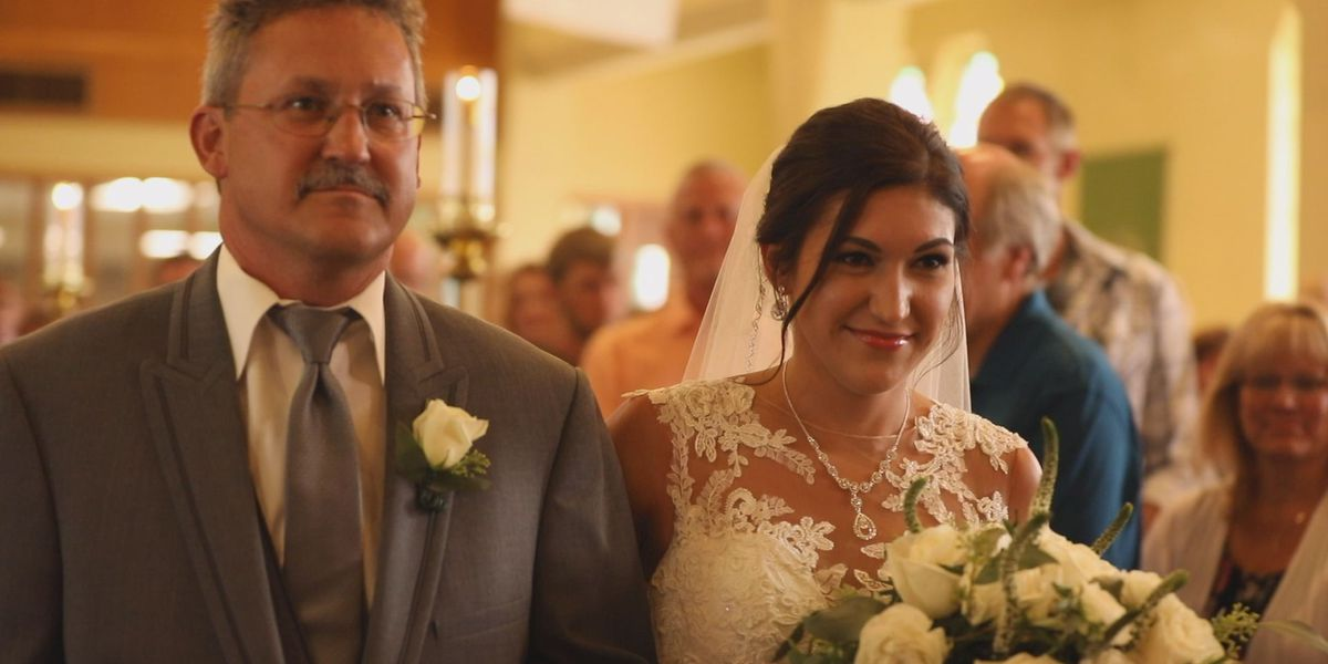 "Bride with a brain tumor makes ""phenomenal"" recovery"