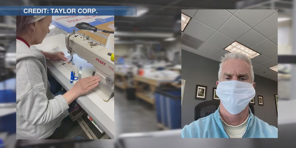 Taylor Corp making face masks; to donate 5,000 in Mankato area