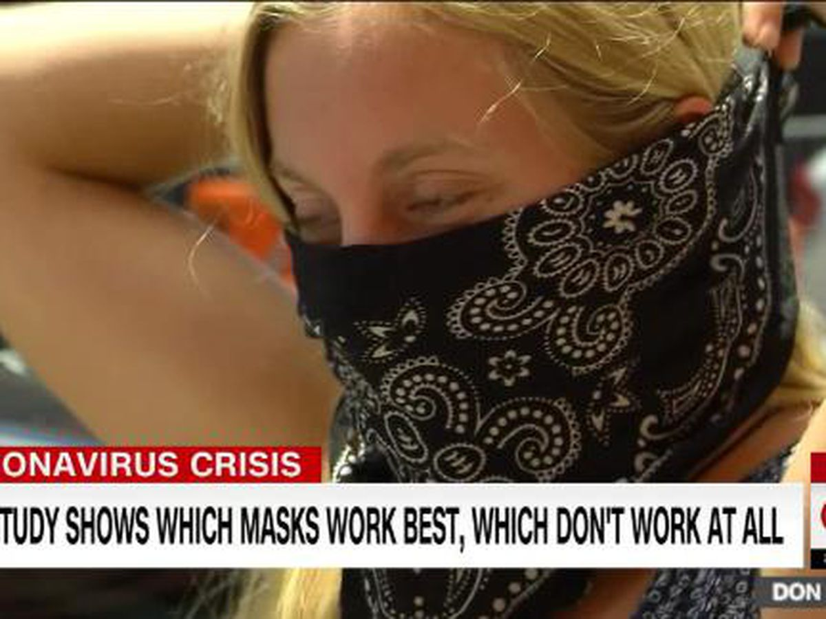 Duke scientists rate which masks work and which don't