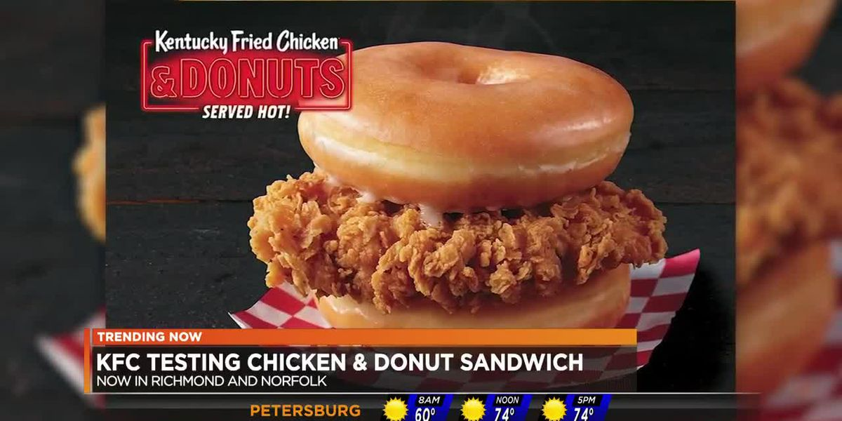 KFC introduces Chicken and Donuts menu options