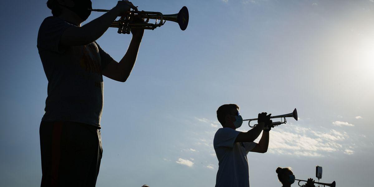Maverick Machine Athletic Bands tunes community spirit, moves ahead with performances