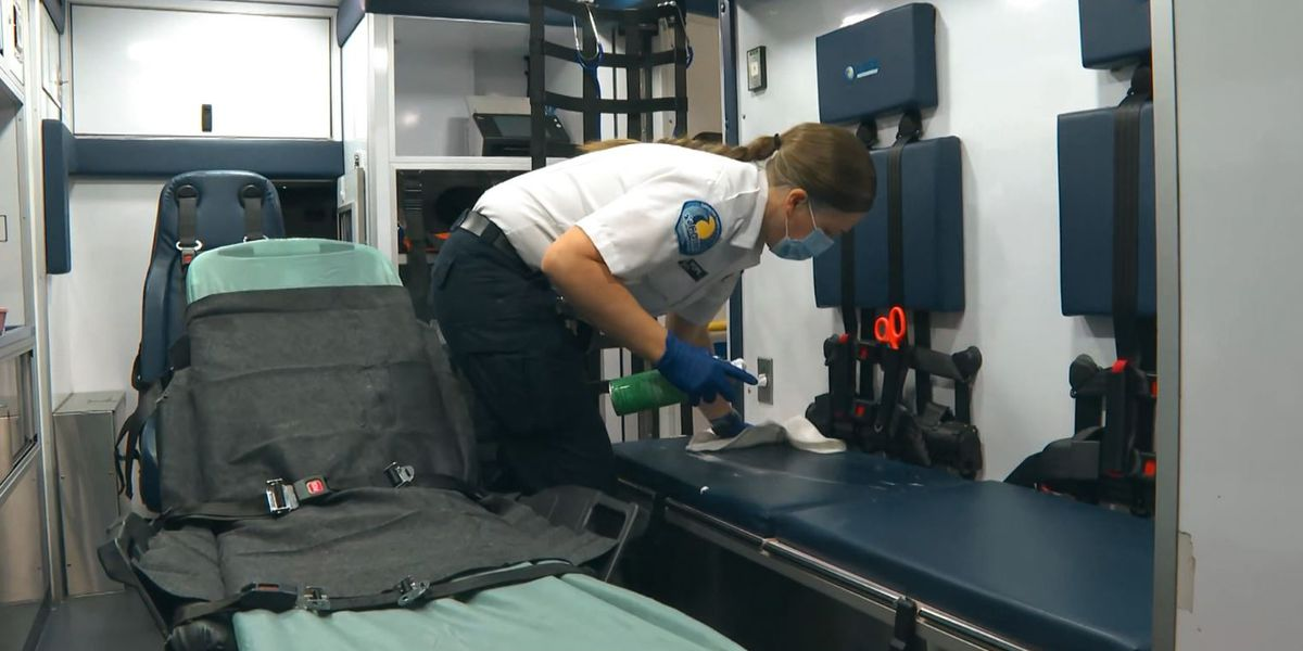 COVID-19 taking toll on Los Angeles EMTs