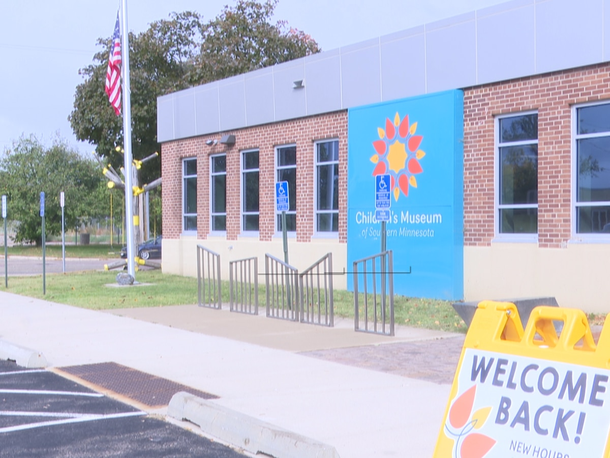 The Children's Museum of Southern Minnesota welcomes families again
