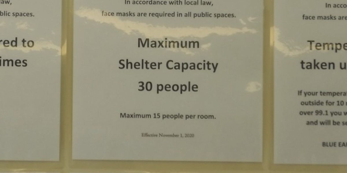 Local shelter sees steady use amid winter season